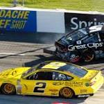 Second to one Jeff Gordon leads Chase drivers after runnerup at Martinsville