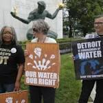 Judge says no to Detroit water shutoff moratorium