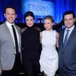 THE SCREENING ROOM: Idina Menzel, Josh Gad, Kristen Bell and Santino ...