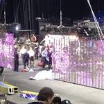 Circus fined $7000 for 'human chandelier' stunt