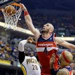 Wizards Now Want to Slow Pacers' Hibbert in Game 3