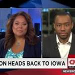Iowans wonder: How long can Clinton's big campaign stay small?