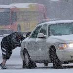 Snow, freezing rain making Michigan roads hazardous