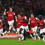 Wenger clings on as Arsenal stumbles into FA Cup final