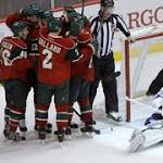 Kuemper, Spurgeon help Wild beat Lightning 2-1