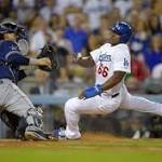 Foundering Dodgers drop another one, 4-1 to the Padres