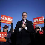 Bill de Blasio wins New York mayoral election