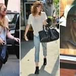 Ooh, Lindsay Lohan moves into a New York apartment with her sister Ali ...