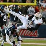 Saturday's Top 25 roundup: Auburn holds off Ole Miss