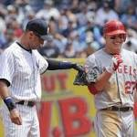 Angels star Mike Trout honored by any Derek Jeter comparisons