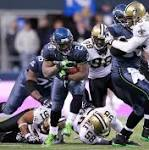 Seahawks rout Saints 34-7