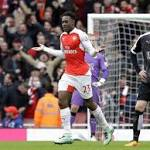 Leicester's lead cut to 2 points after 2-1 loss at Arsenal