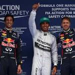 Hamilton takes pole for Chinese GP