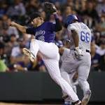 Dodgers strike early, lose late in 7-5 loss to Rockies