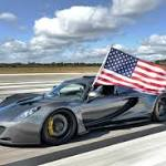 Hennessey Venom GT Breaks Fastest Car Record