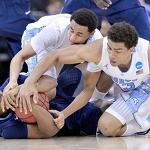 UNC survives Villanova 78-71 to advance in NCAA tournament