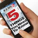 Five things you need to know Thursday