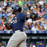 Solid start for Wily Peralta as Milwaukee Brewers fall to New York Mets
