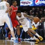 Harden carries Rockets past Nuggets in OT