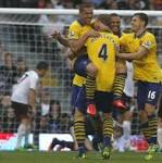 Arsenal beats Fulham 3-1 in EPL