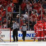 Red Wings' exhausted Eaves breathing easier after clutch Game 3 goal
