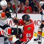Gibson Leads Ducks Past Blackhawks 1-0