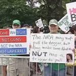 Anti-Gun Violence Rally Marches Across Brooklyn Bridge