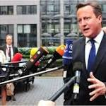 Setback for Cameron as EU party blocs back Juncker