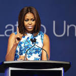 Michelle Obama talks Reach Higher initiative at LULAC's Unity Luncheon ...