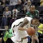 Oregon downs North Dakota 91-76