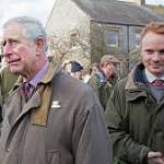 Prince Charles speaks of Somerset flooding 'tragedy'