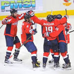 Capitals survive Bruins' rally and prevail in overtime