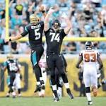 Blake Bortles throws TD in Jaguars' preseason finale; final cuts up next