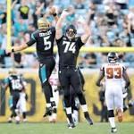 Blake Bortles throws TD in Jaguars' preseason finale; final cuts up next