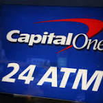 Profits, revenue slip at Capital One